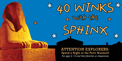 40 Winks with the Sphinx