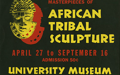 African Tribal Sculpture ad